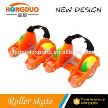 wholesale adjustable light shoes flashing roller skate