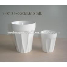 SGS & FDA 180ml & 550ml caneca cerâmica da promoção venda