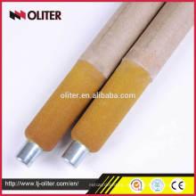 Amostragem líquida de oxigênio Fábrica de fabricação de aço Usando sonda composta para aço fundido