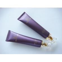 Tubo de plástico para cosméticos envases con tapa de acrílico