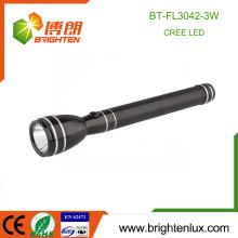 Fabrication Custom Made Housing Aluminium Handheld 3SC Ni-mh cell Black 180 lumen Q3 / Q5 Cree Rechargeable Most Powerful Led Light