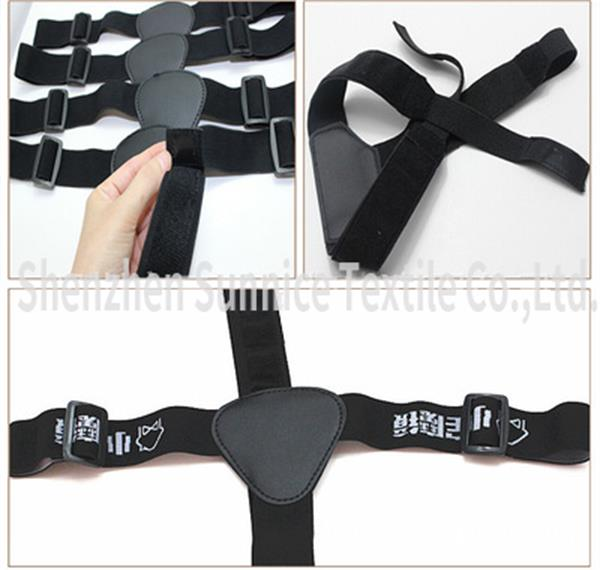 adjsutable head mout strap belt