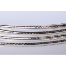 High quality silver metallic cord cheap wholesale