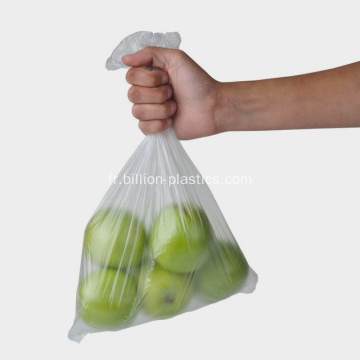 Sac transparent pour fruits à bonbons