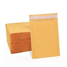 Пользовательский водонепроницаемый крафт-желтый белый пузырь для отправки