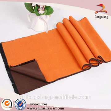 One color on one side plain viscose wholesale scarf