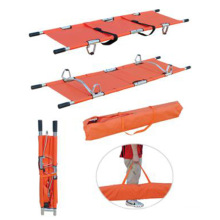 Hot sale Portable PVC ambulance folding stainless first aid stretcher
