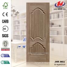 JHK-M02 em relevo Sink modelo Black Walnut Door Skin com boa qualidade Flauta painel da porta