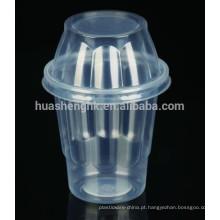 Copo De Sundae De Gelado De Plástico Descartável
