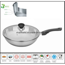 All-Clad 3ply Body Stainless Steel Cooking Wok