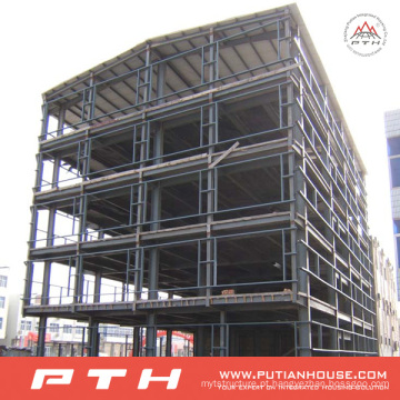 Armazém projetado profissional da construção de aço do grande período com Installa fácil