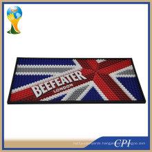 Promotion High Quality 3D Custom Logo PVC Bar Beer Mat