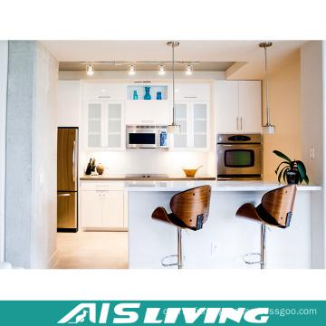 Meubles de placard de laque de Cabinet de cuisine de contreplaqué (AIS-K438)
