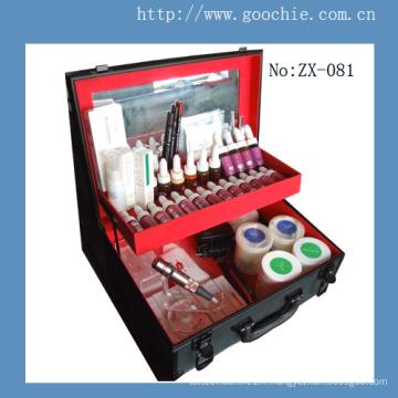 Kit d'outils multifonctionnel de tatouage professionnel et de maquillage permanent (ZX-081)