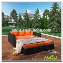 Audu Large Hotel Or Inn Wicker Rattan Day Bed