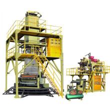 Modelo Sgj500-1500 POF 3-Layer Co-Extrusão Poliolefina Hot-Shrink Filme Linha de Produção