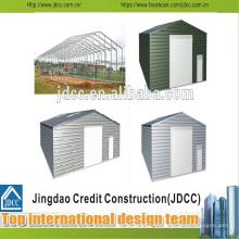 Garage à structure métallique à faible coût