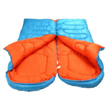 Spliced Lightweight Waterproof Winter Adult Envelope Hollow Cotton Sleeping Bag
