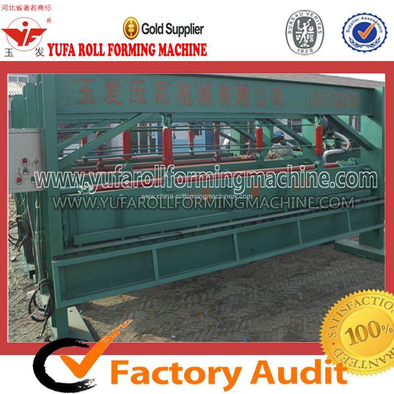 Hot Sale YF-4M Hydraulic Shearing Cutting Roll Forming Machine