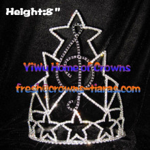 Music Crystal Pageant Crowns