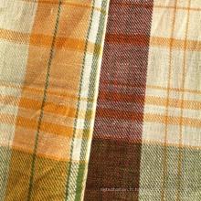 Tissu en coton en lin pour chemise (QF13-0496)
