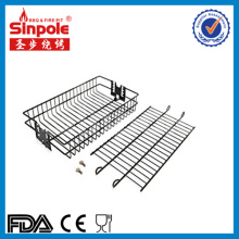 Stainless Steel BBQ Grill Basket with Ce/FDA Approved
