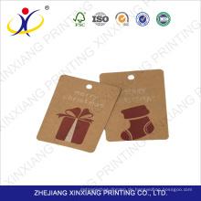 Garantierter Qualitätspreis-Kraftpapier-Hangtag