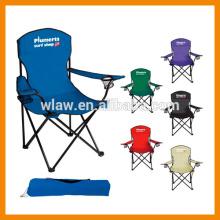 Cadeira de praia de dobramento adulta do poliéster 600D que viaja