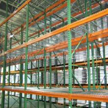 Metall Wire Mesh Warehouse Medium Duty Storage Rack