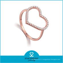 Nouveaux bijoux pour la Saint Valentin Fashion Zircon Ring (R-0639)