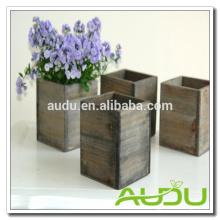 Audu Caja de Plantador / Caja de Plantadora de Flores Caja de Plantones de Madera