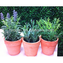 Real touch mini gazon artificiel bonsaï pour la décoration de la maison