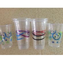 Пластиковые стаканчики для холодный напиток
