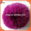 2015 Hotsale colorful rabbit fur pom poms