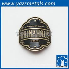 customized motorcycle badge