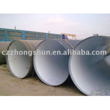 large diameter 3PE steel pipe