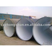 large diameter 3PE steel pipe