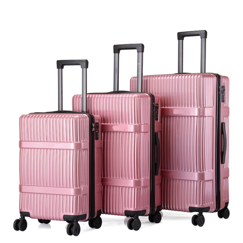 Pink Women Luggage Set