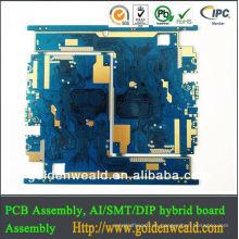 pcb de diseño electrónico con PCB y PCBA y servicio de montaje Toma de auriculares de 3.5 mm a pcb