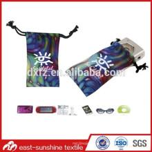Хорошее ручное касание высокое качество логотипа печать микрофибры сумка