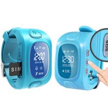 Kinder GPS-Tracking-Uhr mit Echtzeit, Telefon Nachricht, Telefonanruf (WT50-KW)