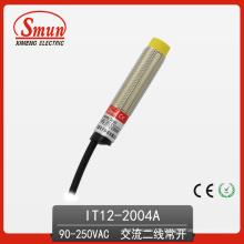 A saída CA indutiva do Dois-Fios do interruptor 90V-250VAC do sensor de proximidade não emitiu nenhum 4mm