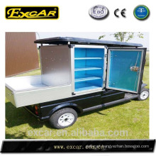 Trojan battery buffet use electric car buggy