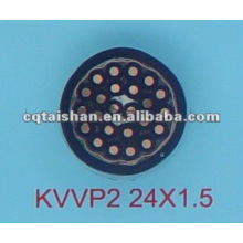 KVVP2 450 / 750V медный кабель с изоляцией из ПВХ с изоляцией и оболочкой с экраном из медной ленты