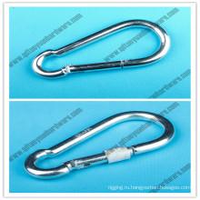 Оснастки крюк такелаж оборудования, оснастки DIN5299d крюк с винтом