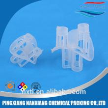 Nan XiangPP PVC PE Plastic Heilex Ring for alkali-Chloride industry