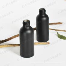 100ml Aluminium Sprayer Flasche in Matte Schwarz Farbe (PPC-ACB-011)