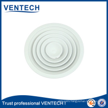 Hotsale air condionting outlets aluminium round air ceiling diffuser vents