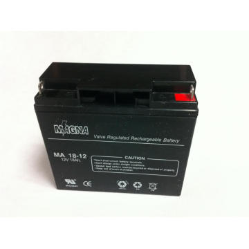 Batteries 12V 18Ah VRLA AGM / SLA
