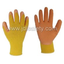 Latex Work Glove with Knitted Wrist (LY3012)